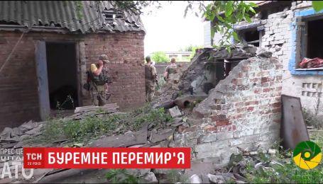 Ворог продовжує обстрілювати артилерійськими снарядами житлові квартали та позиції ЗСУ