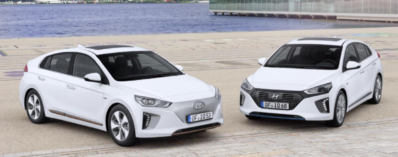 В Украине стартовали продажи электрокара Hyundai Ioniq