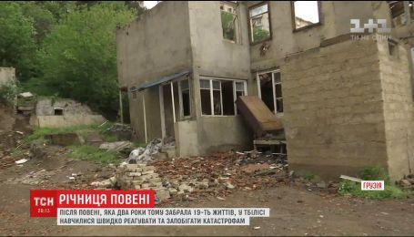 Грузия вспоминает погибших в крупнейшем в истории Тбилиси наводнении
