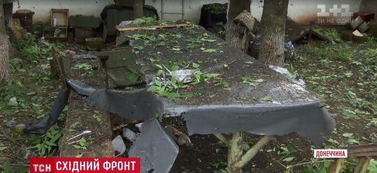 """Росіяни розтрощили їдальню """"Айдара"""" з мінометів – військові"""