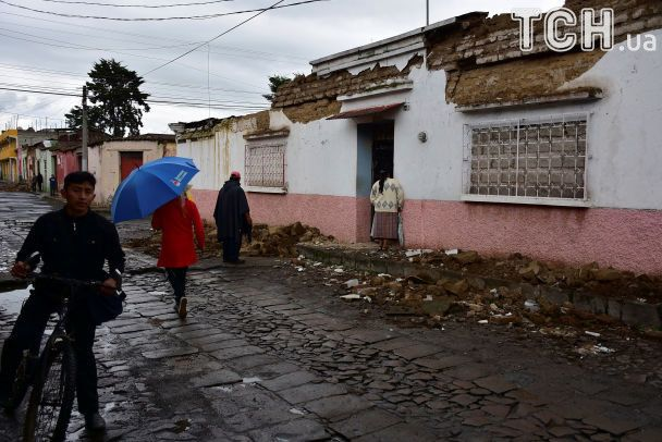 У Гватемалі стався потужний землетрус: є загиблі