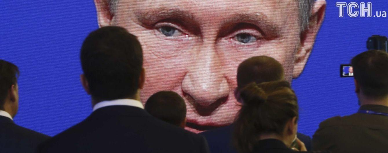 """Путін заявив, що буде захищати окупований Крим """"усіма доступними засобами"""""""