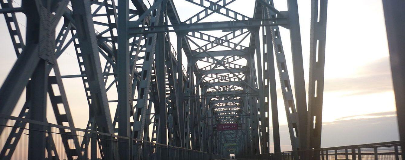 В Черкассах перекроют единственный мост через Днепр