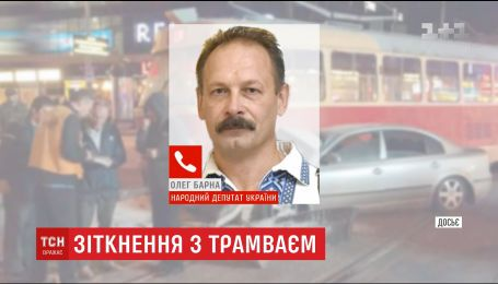 Олег Барна визнав свою провину в нічному ДТП на площі Перемоги