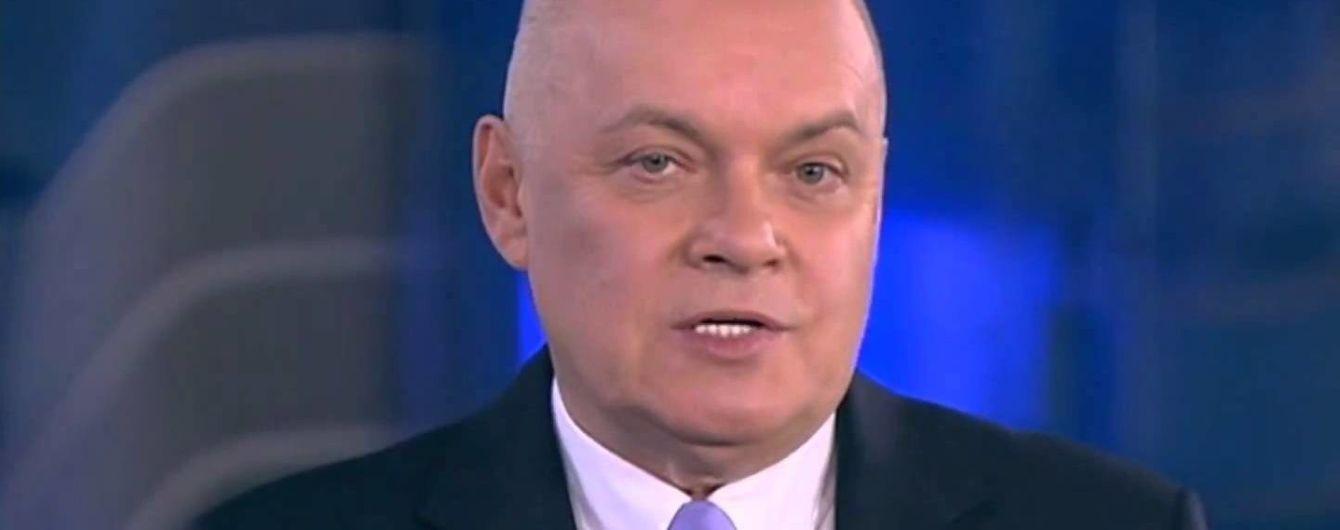 У ЄС вирішили не скасовувати санкції проти головного російського пропагандиста Кисельова