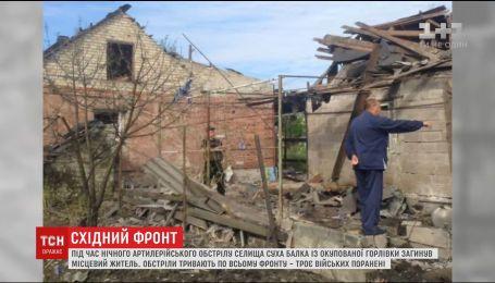 Трое украинских бойцов получили ранения в результате обстрелов по всей линии разграничения