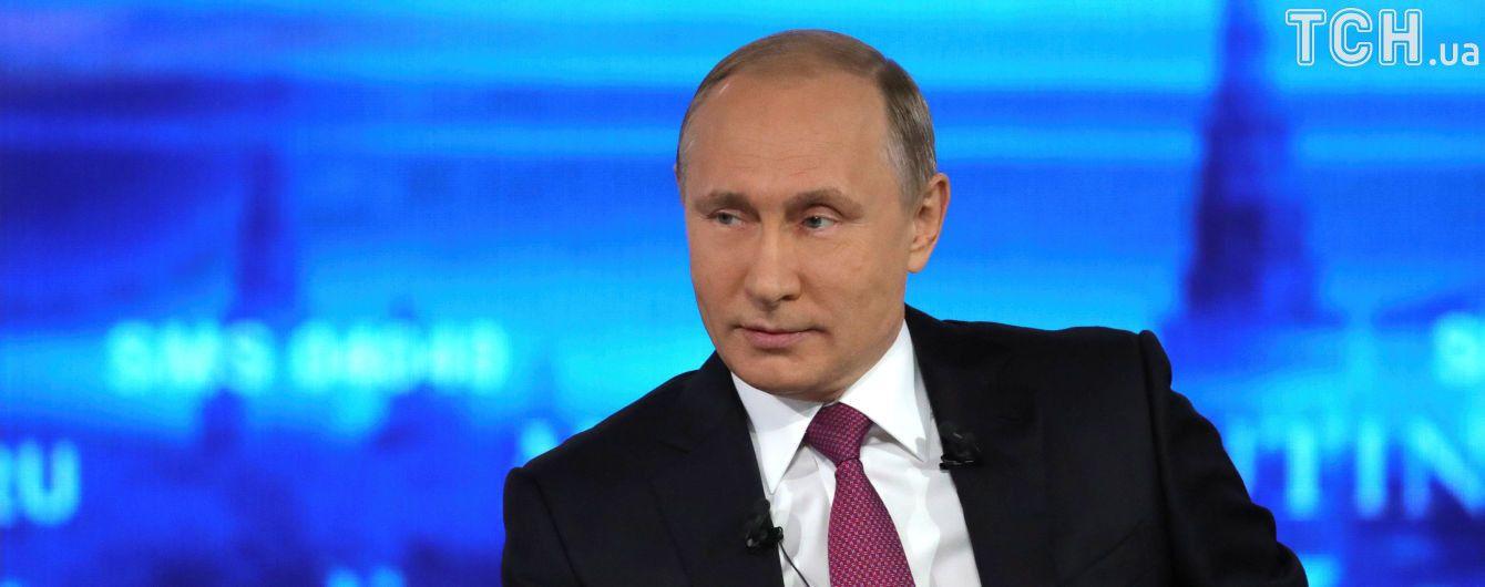 """""""Не было бы Крыма, придумали бы что-то другое"""". Путин прокомментировал санкции запада против РФ"""