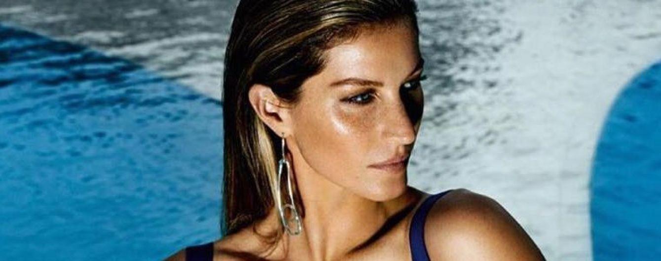 Эффектная Жизель Бундхен показала фигуру в новой фотосессии для Vogue