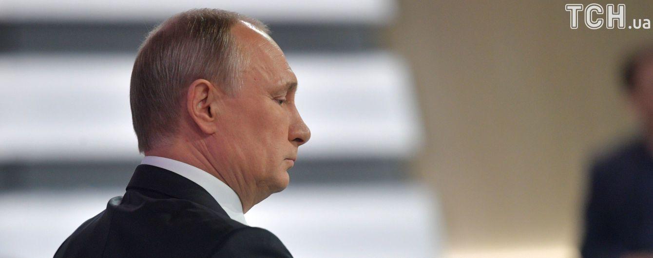 Путин надеется на участие США в урегулировании конфликта на Донбассе
