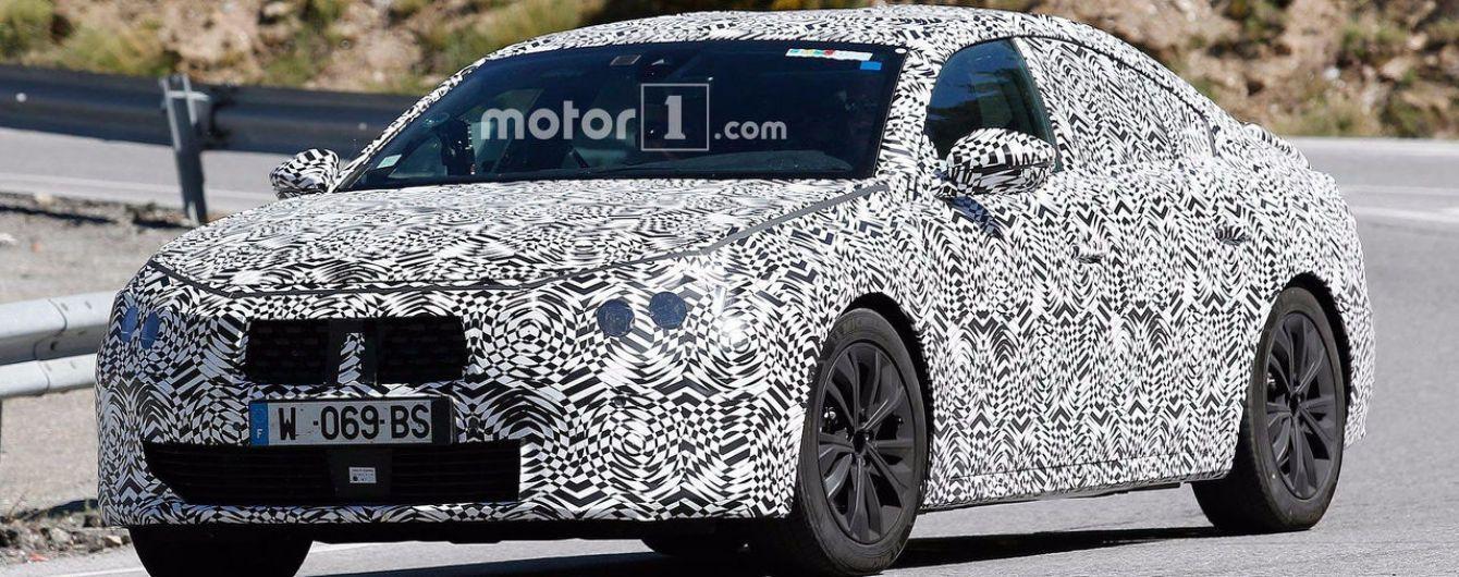 Французы вывела на тесты Peugeot 508 нового поколения