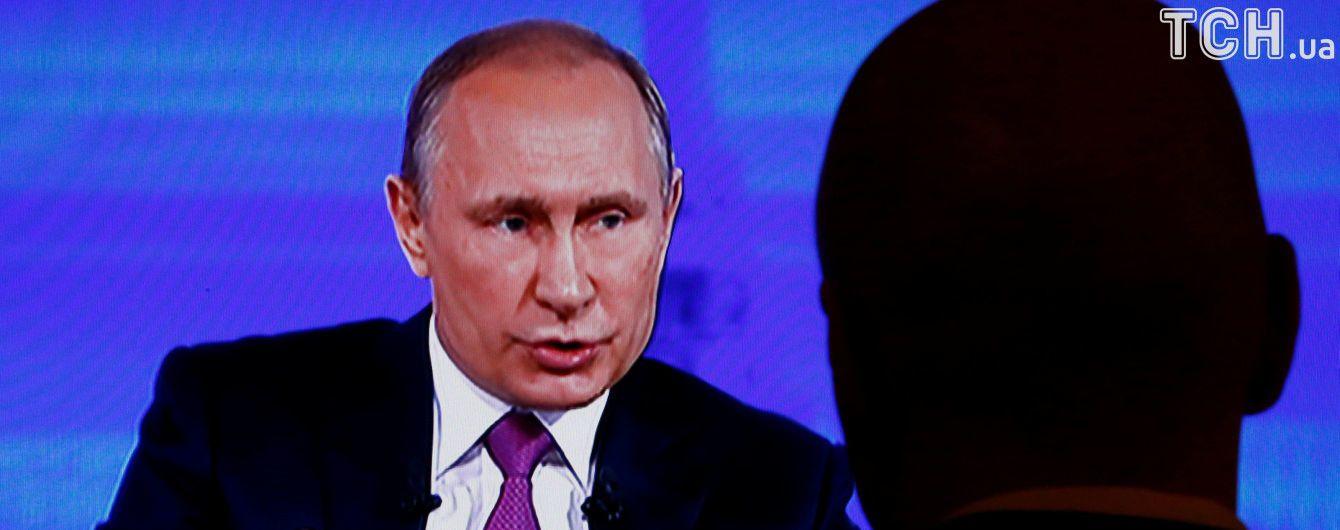 """""""Я ще працюю"""". Путін ухилився від відповіді на запитання про свого наступника"""