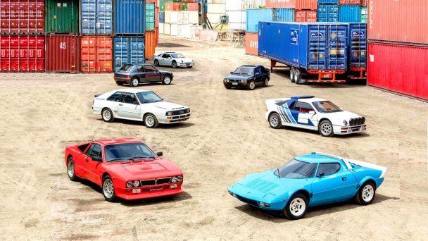 """На аукцион выставили семь легендарных авто раллийной """"Группы Б"""""""