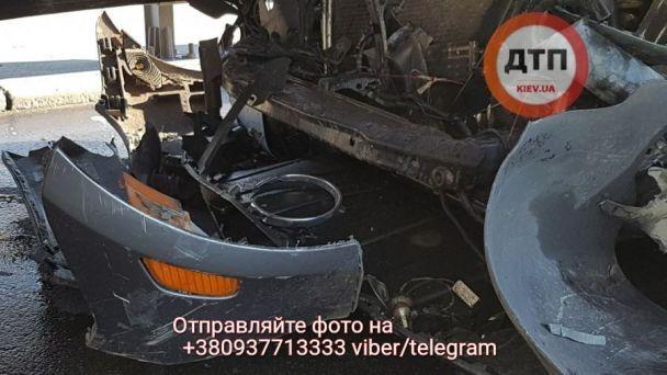 Смертельне ДТП намосту Патона вКиєві, оприлюднені фото