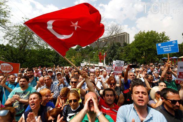 Новые протесты в Турции: оппозиция хочет пешком дойти из Анкары до Стамбула