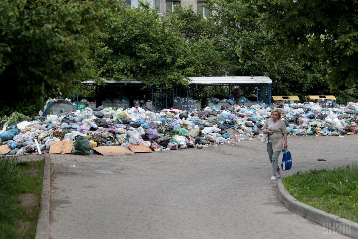 сміття, Львів