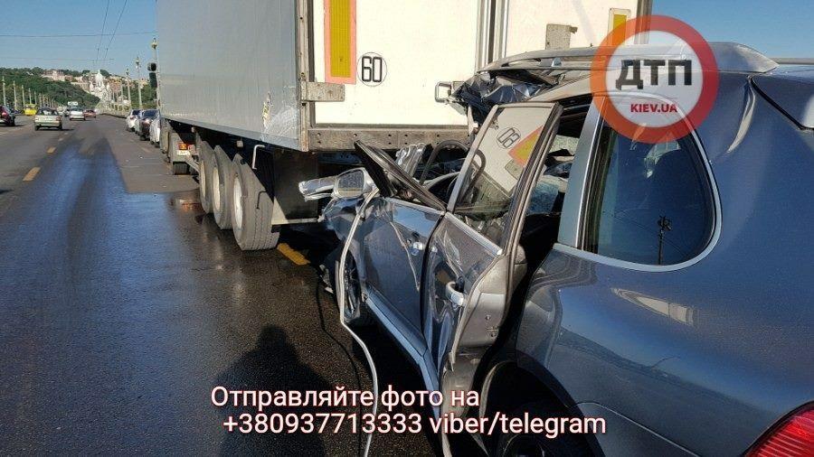 ДТП грузовик
