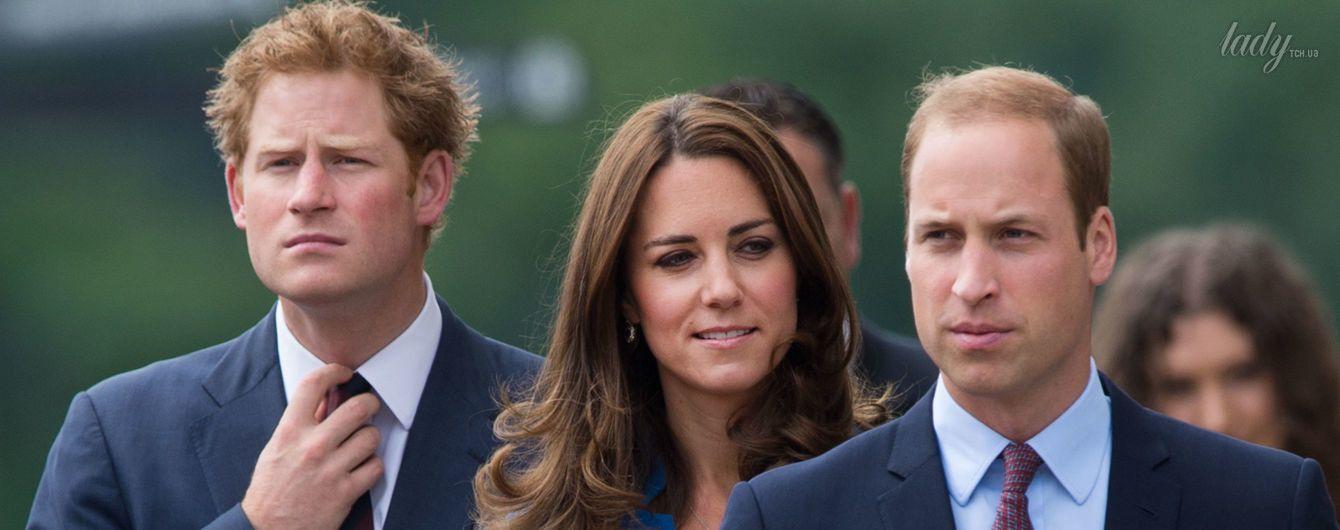 Принцы Уильям, Гарри и герцогиня Кэтрин помогли пострадавшим в пожаре в Лондоне