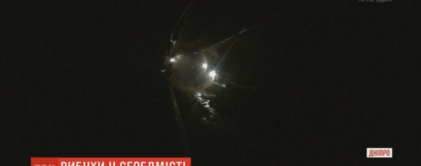 Дніпровські метробудівці проводять підземні вибухи під центром міста