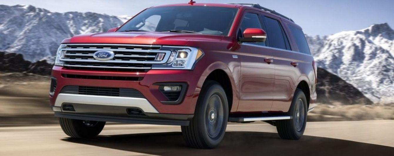 Ford Expedition получил внедорожный пакет FX4