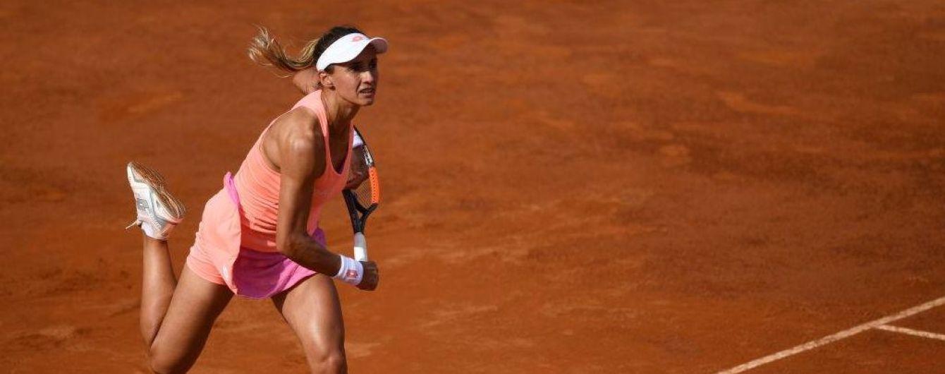 Українка Цуренко пробилася до півфіналу тенісного турніру в Нідерландах