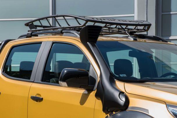 Концептуальный пикап Chevrolet S10 Trailboss приехал в Латинскую Америку