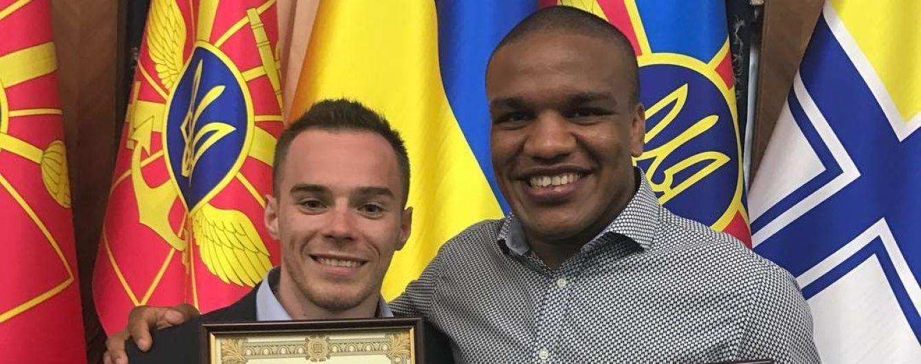 Олимпийцы Верняев и Беленюк получили офицерские погоны