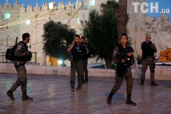 У центрі Єрусалима застрелили трьох палестинців, які напали на ізраїльських прикордонників