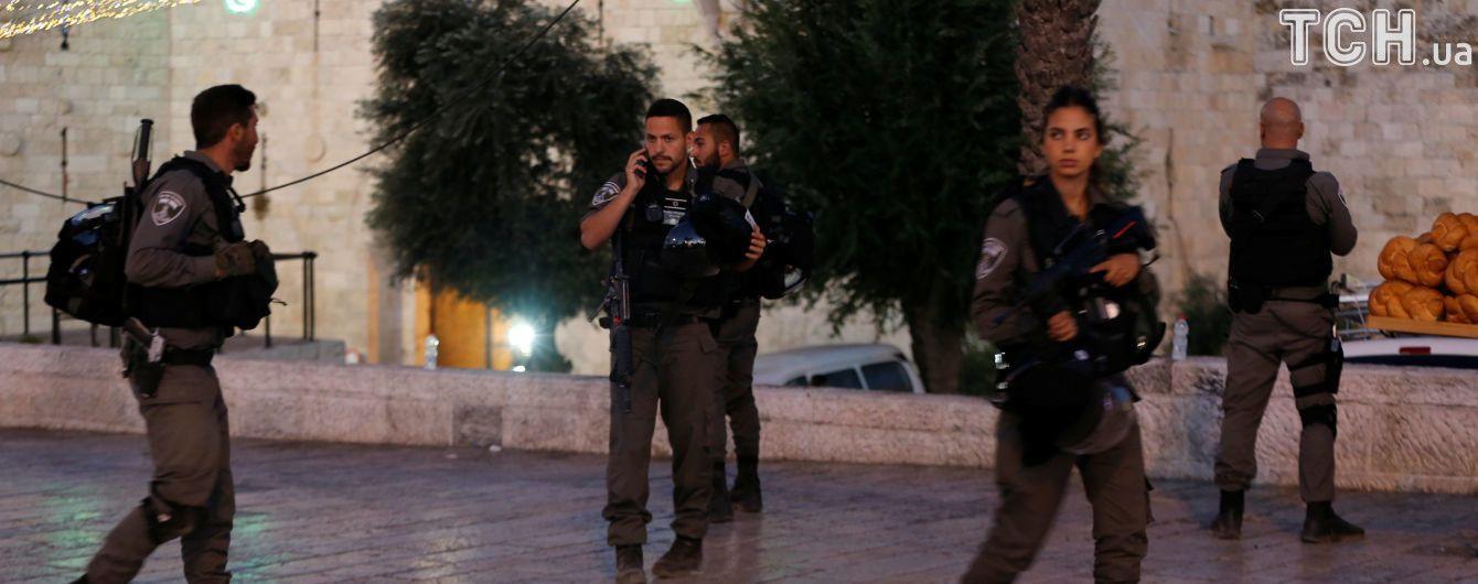 В центре Иерусалима застрелили трех палестинцев, напавших на израильских пограничников