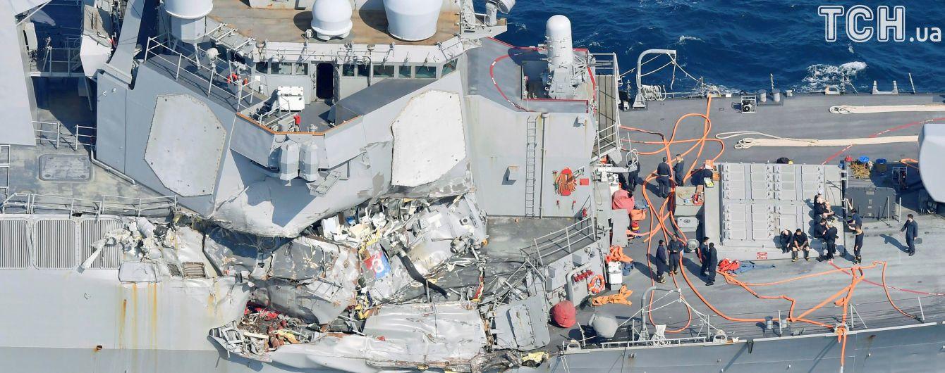 Пропавших американских моряков нашли мертвыми после столкновения с торговым судном возле Японии