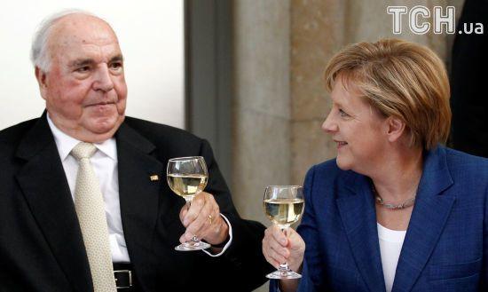Був великим німцем і великим європейцем: Меркель згадала, як Коль змінив її життя
