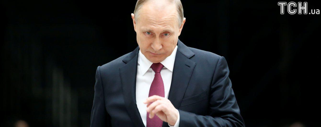 Путин пока не готов говорить об ответе на новые санкции США