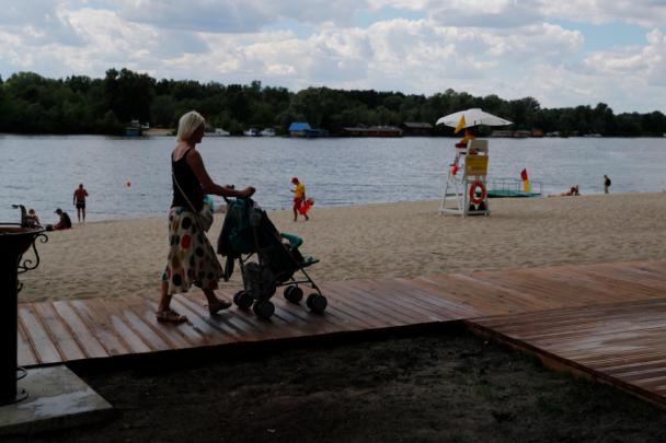 В Киеве выбрали лучшие пляжи и вручили им международную награду