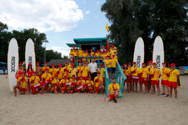 У Києві обрали найкращі пляжі та вручили їм міжнародну відзнаку