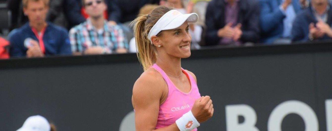 Украинка Цуренко остановилась в шаге от финала теннисного турнира в Нидерландах