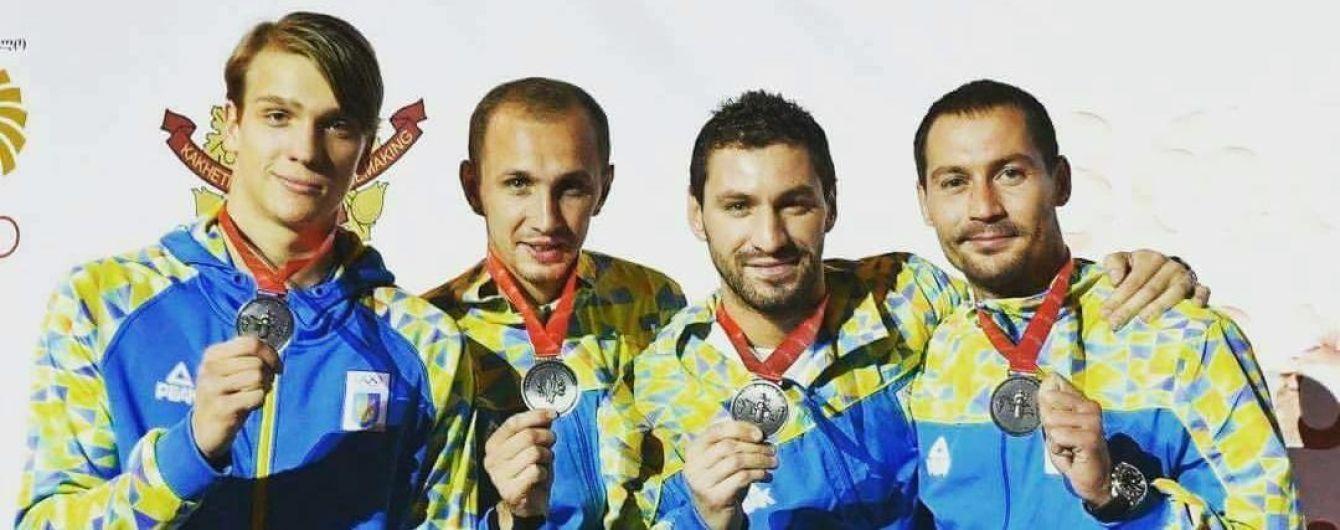 """Українські шпажисти виграли """"срібло"""" чемпіонату Європи"""