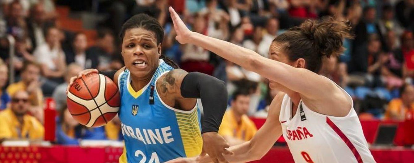 Украина проиграла Испании во втором туре женского Евробаскета
