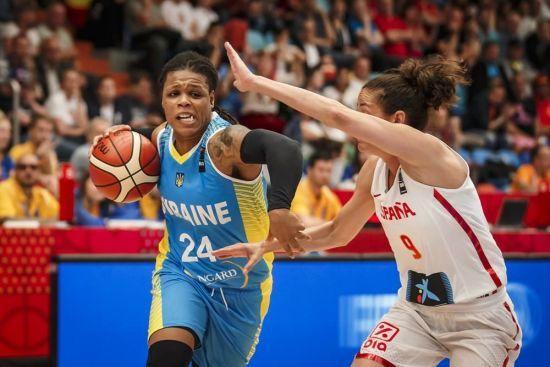 Україна програла Іспанії у другому турі жіночого Євробаскету
