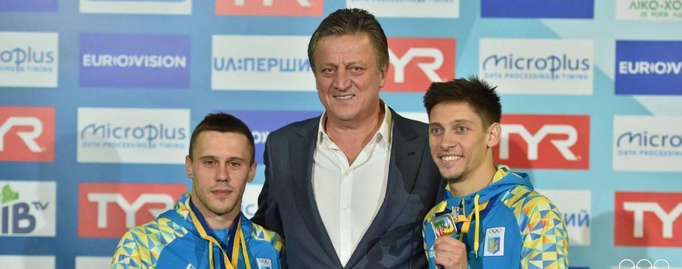 Україна завоювала 10 медалей на чемпіонаті Європи зі стрибків у воду