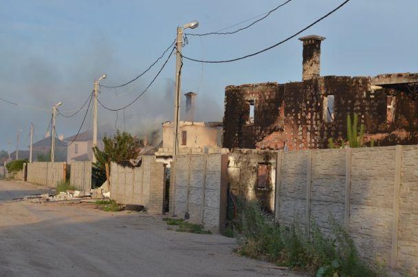 Бойовики обстріляли житловий сектор Бердянського біля Маріуполя