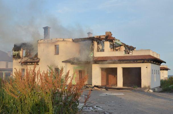 Боевики обстреляли жилой сектор Бердянского возле Мариуполя