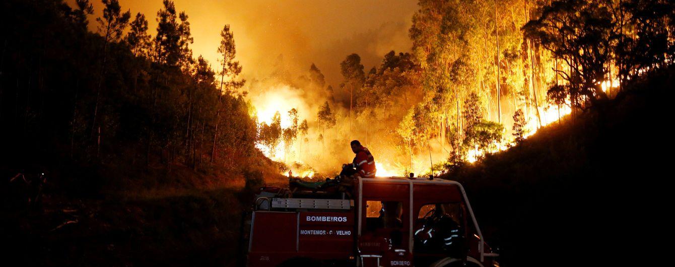 Жертвами потужних лісових пожеж стали десятки португальців: люди гинули просто в автівках