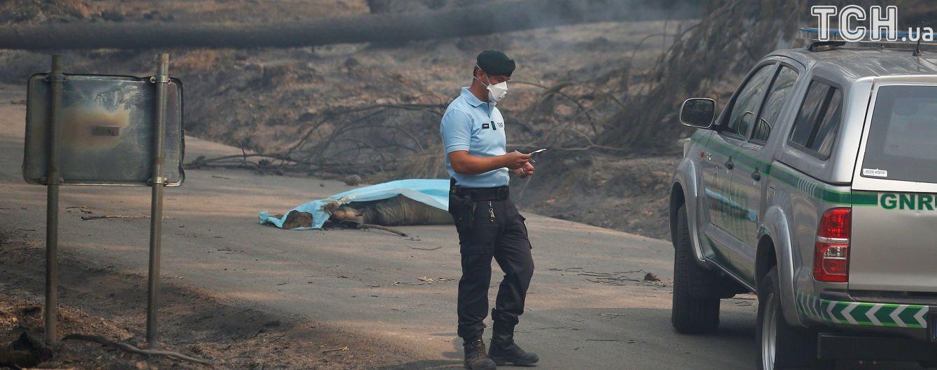 Потужні лісові пожежі у Португалії: кількість жертв росте, у країні оголошено жалобу
