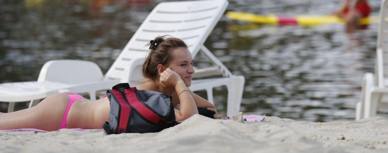 В Киеве разрешили купаться на шести пляжах