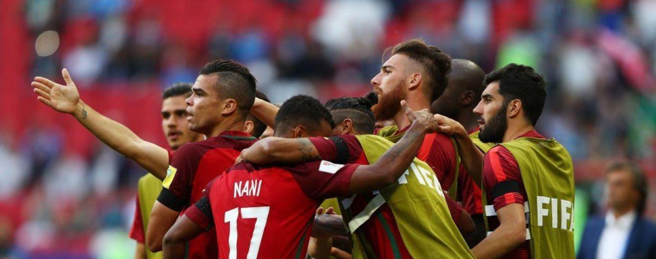 Гол Пепе в матчі Кубка Конфедерацій скасували після відеоповтору