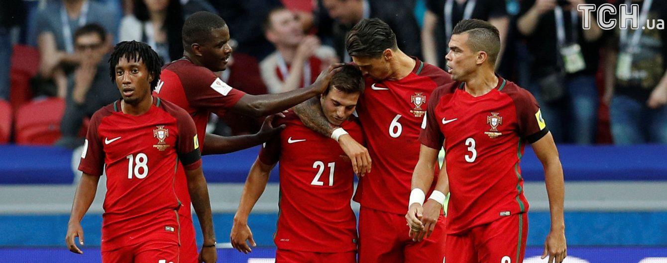 Португалия не удержала победу над Мексикой в матче Кубка конфедераций