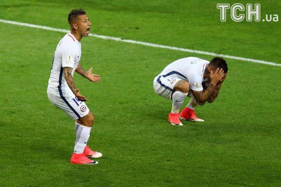 Збірна Чилі у непростому поєдинку  перемогла Камерун