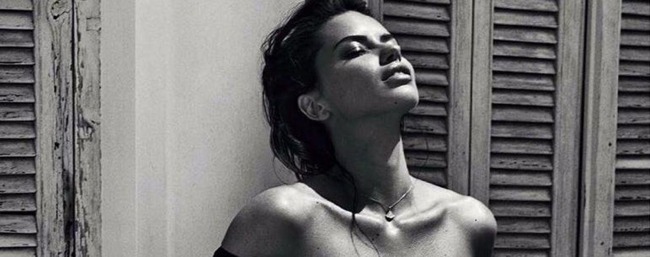 Сексуальная красотка: Адриана Лима в новом фотосете для испанского Vogue