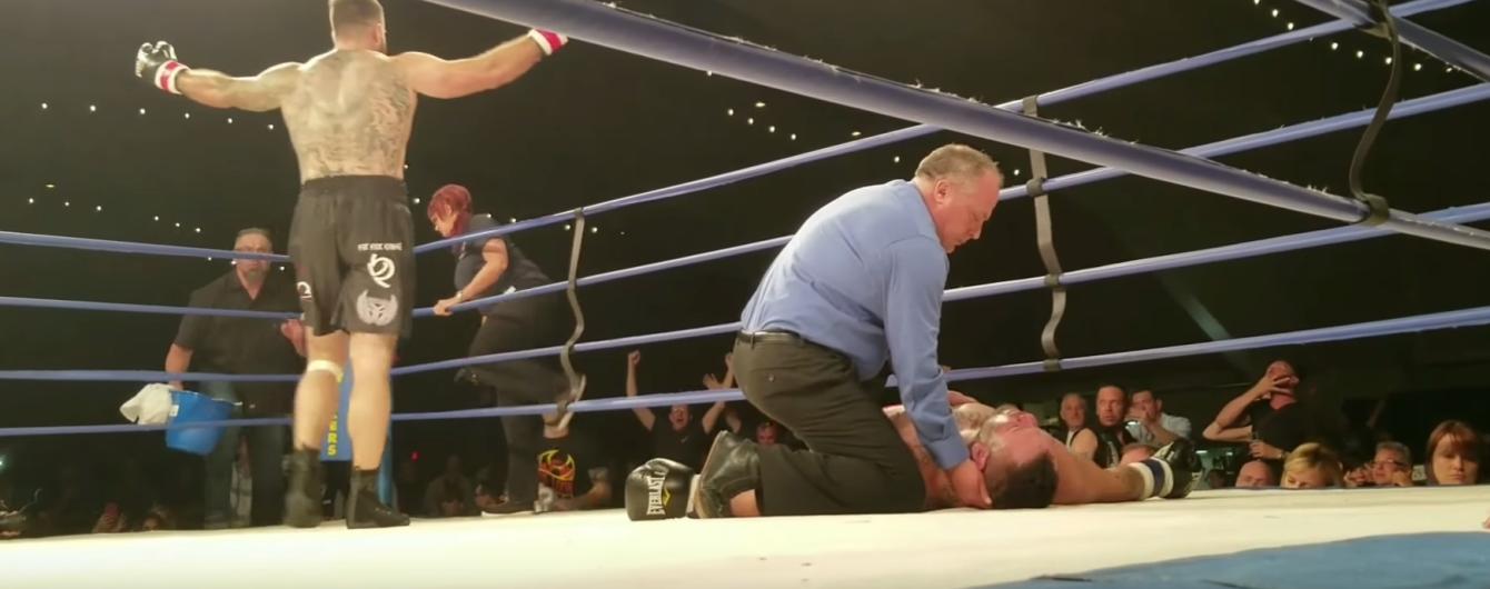 Бывший боец UFC умер после нокаута в боксерском поединке