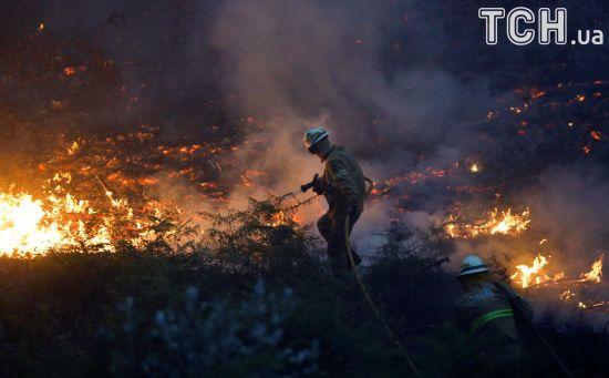 У Португалії зросла кількість жертв пекельних лісових пожеж