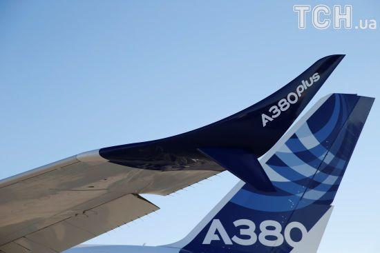 Airbus представив найбільший пасажирський літак в світі на міжнародному авіасалоні в Ле-Бурже